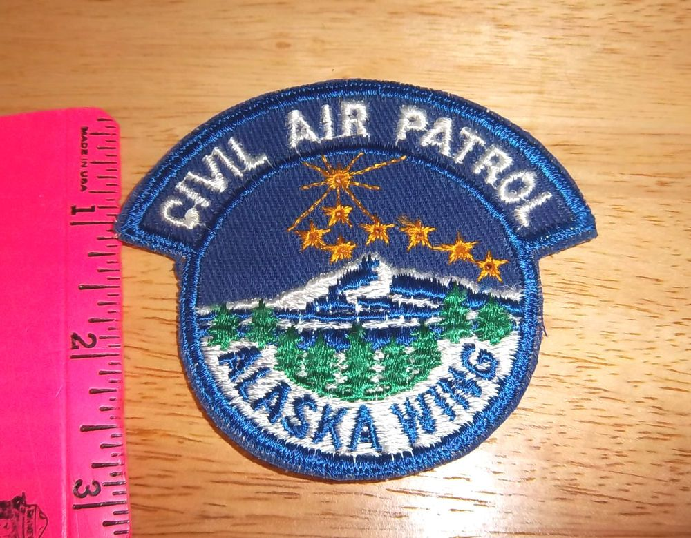 Civil Air patrol Alaska Wing embroidered Patch CAP