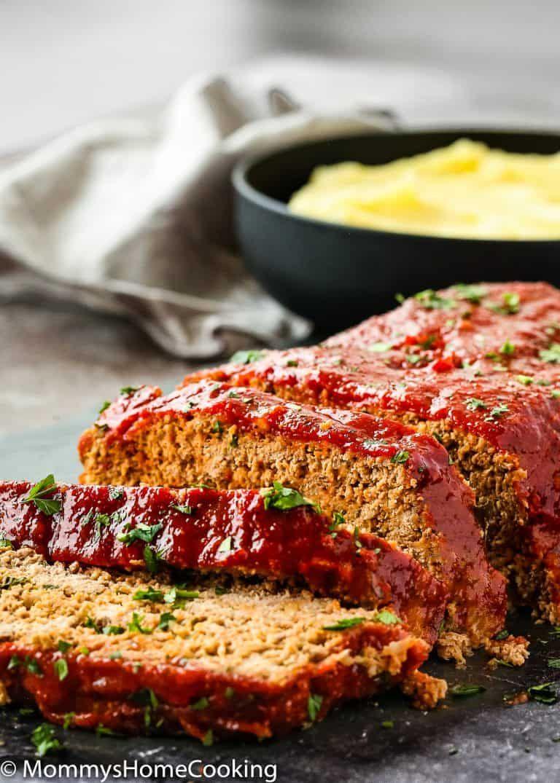 Easy Eggless Meatloaf Recipe Eggless Meatloaf Meatloaf Meatloaf Recipes