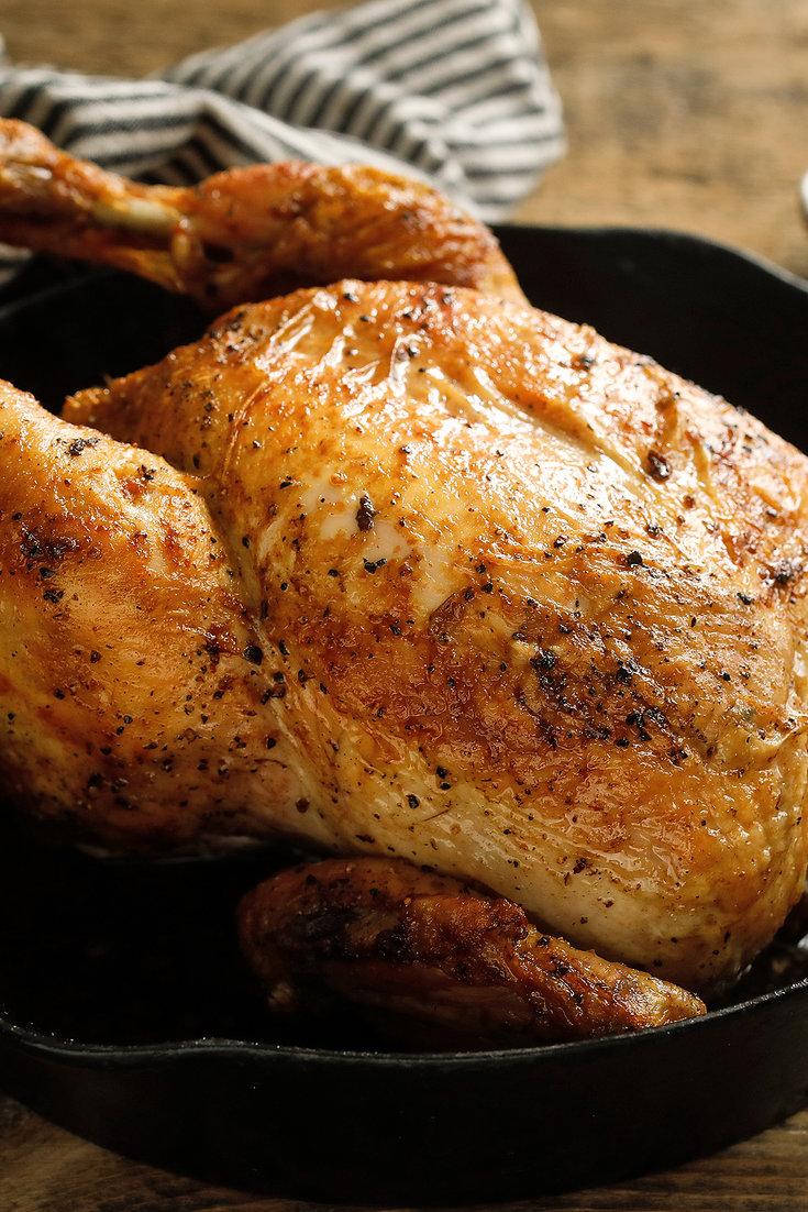 Jacques Pepin S Basic Roast Chicken Recipe Nyt Cooking Easy Roast Chicken Roast Chicken