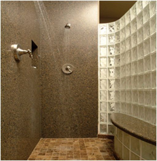 Use Silestone In Shower Home Goods Decor Updating House House Bathroom