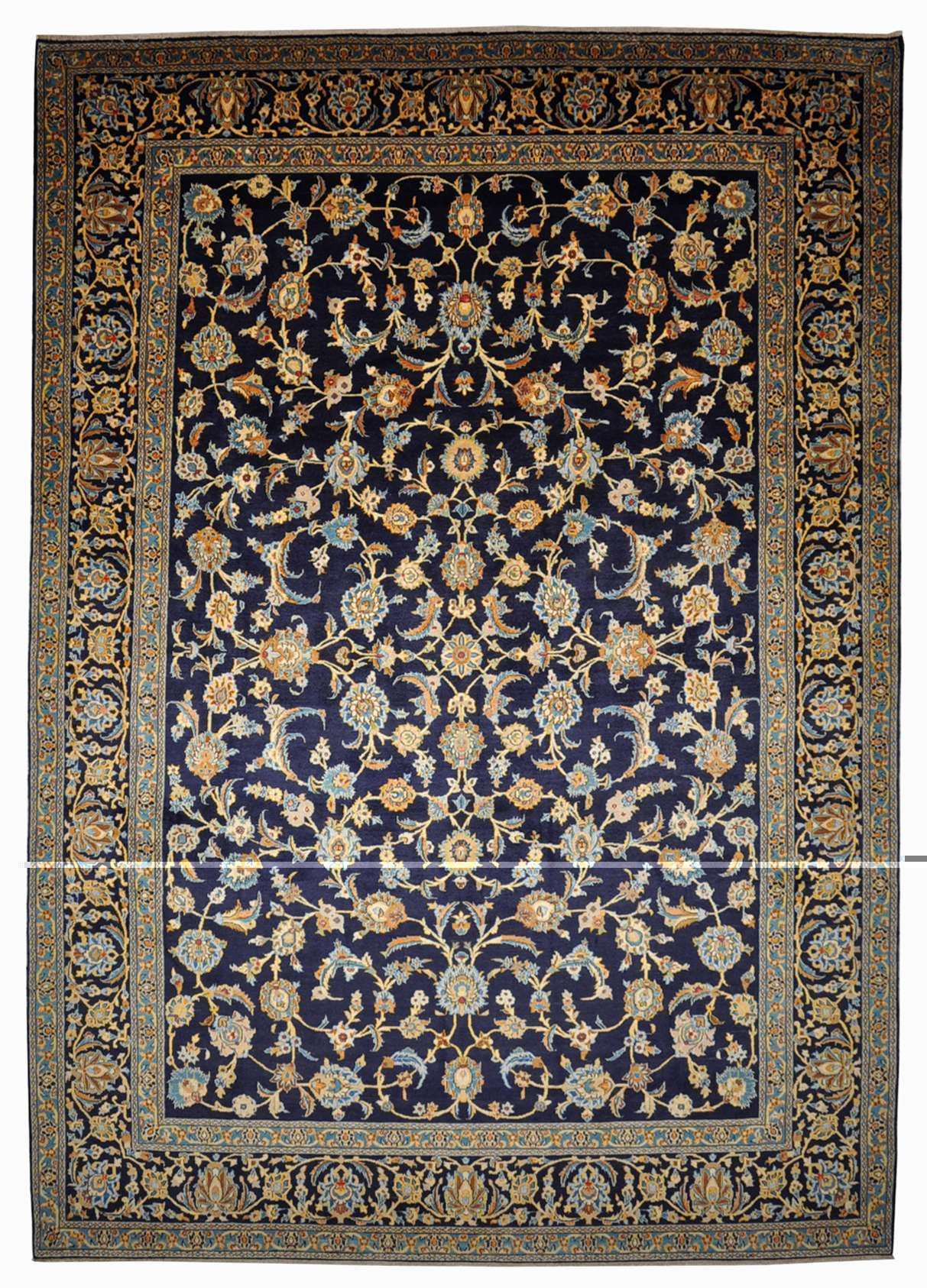 Kashan Teppich 385x269 Kashan Rug Antique Carpets Traditional