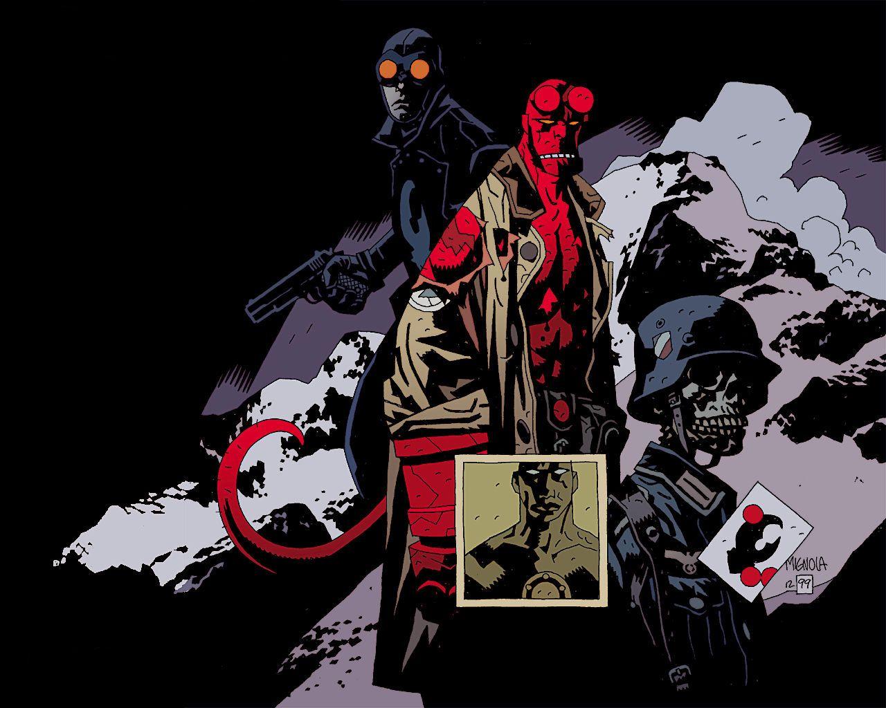 épinglé Par R4gn4rok Sur Hellboy Pinterest Mike Mignola Comics
