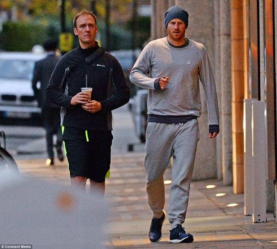 Photos: Prince Harry Spotted Leaving The Gym After Wedding