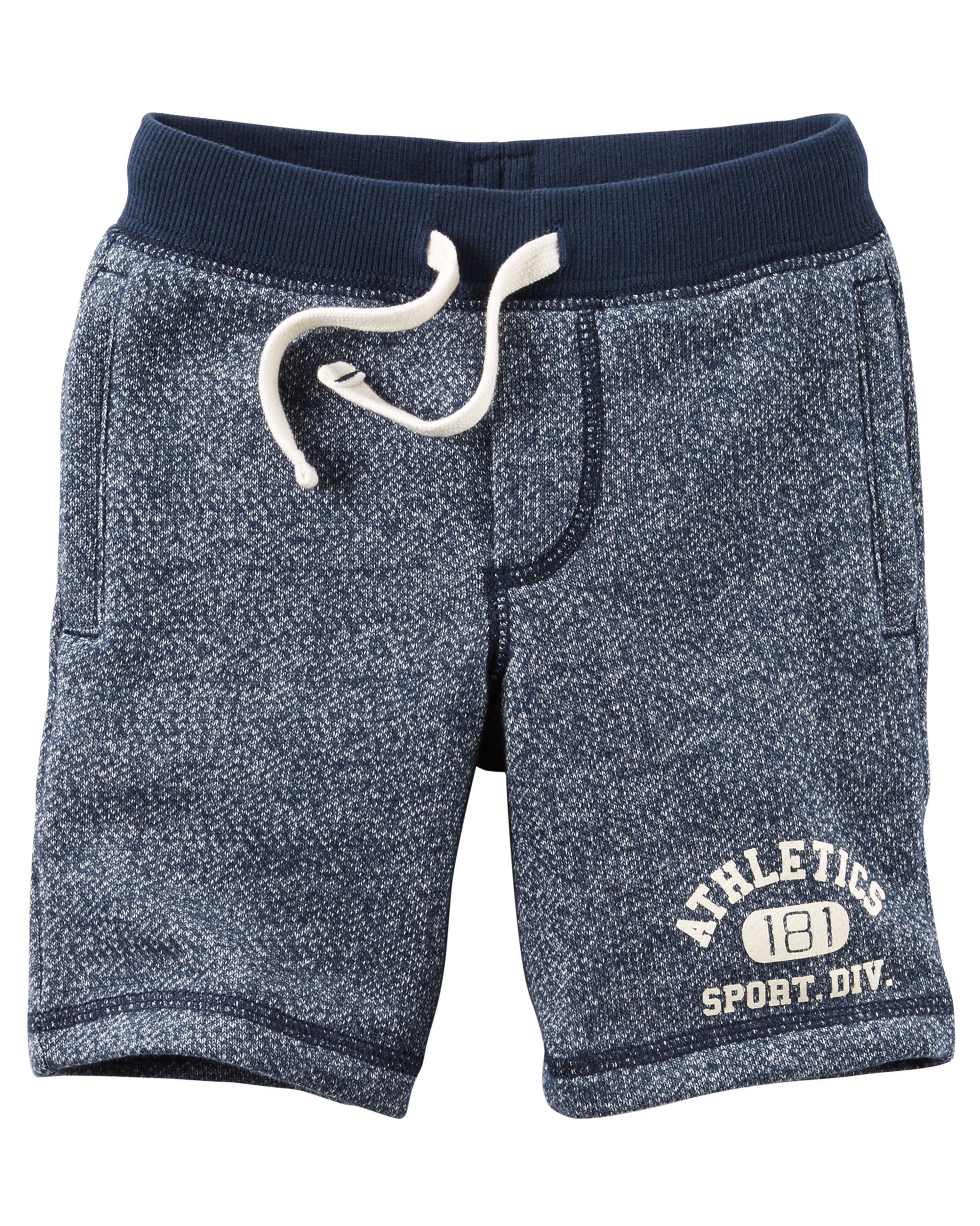 8e40c7a9e8 Toddler Boy Marled French Terry Active Shorts