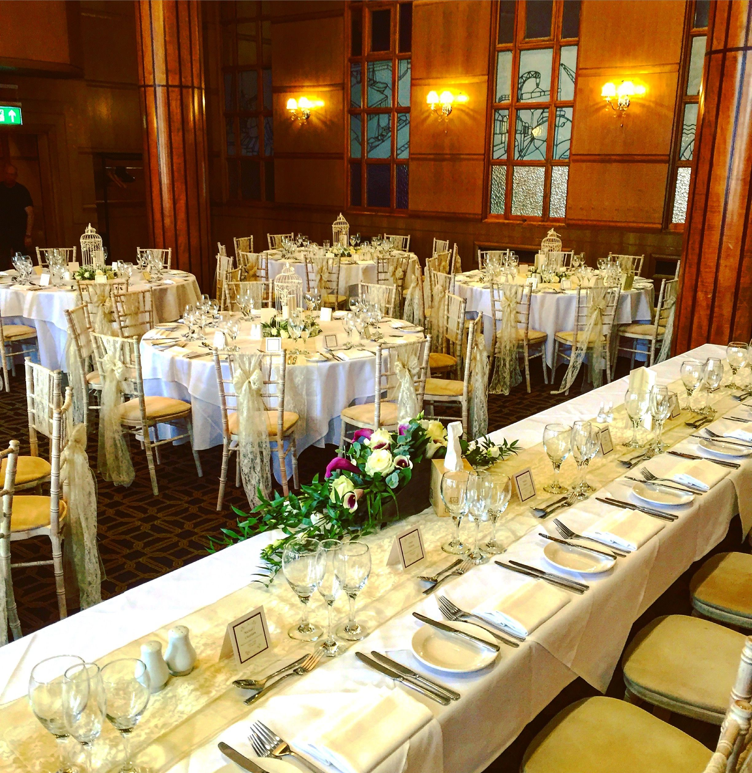 Our Art Deco Wedding set up at the impressive Vermont Hotel ...