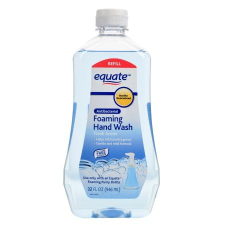 Equate Antibacterial Spring Showers Foaming Hand Wash Refill 32