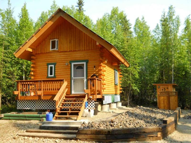 Alaska Log Cabins Log Cabins With Running Water For Rent