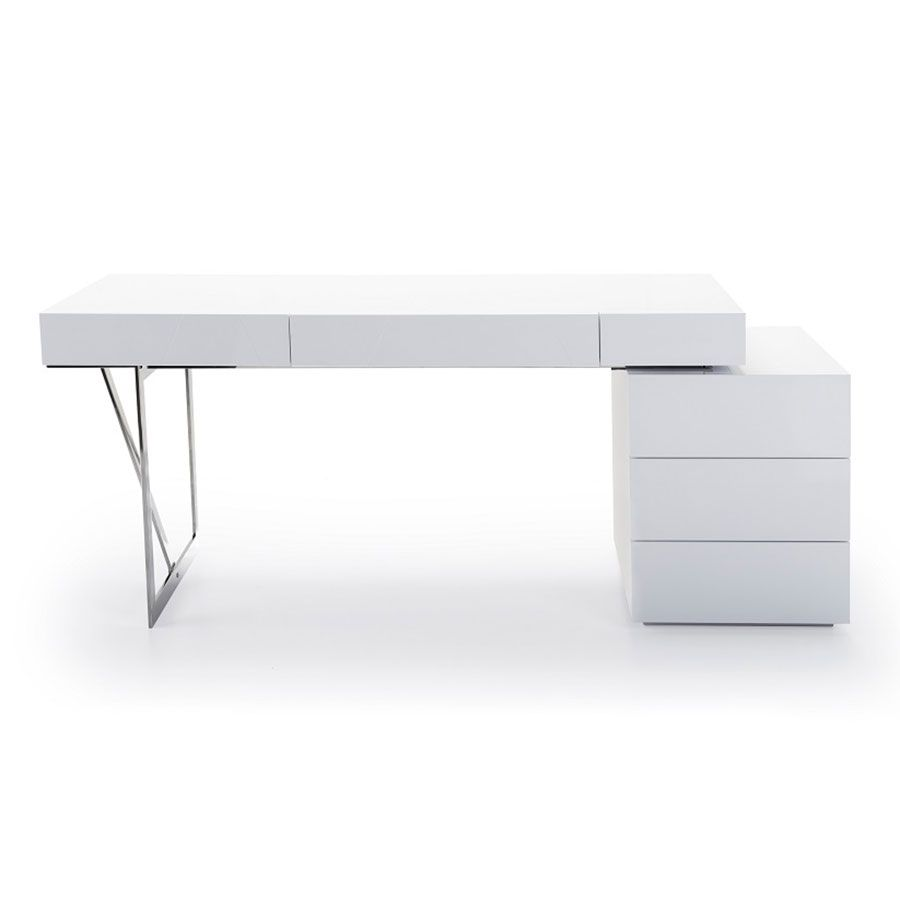 Modern Desks League Desk Modern Desk Modern White Desk Desk
