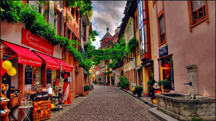 Streets in Switzerland