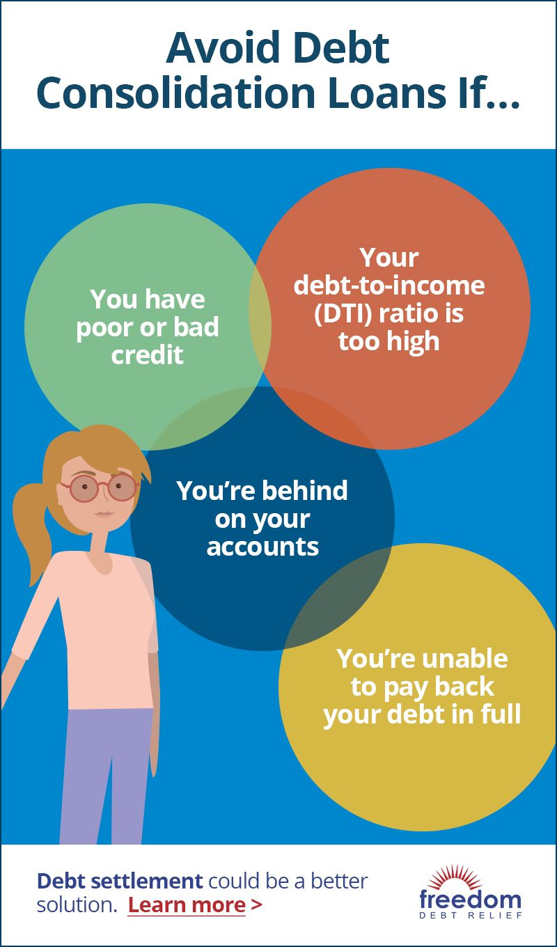 Debt Consolidation Loans For Poor Credit Debt Consolidation