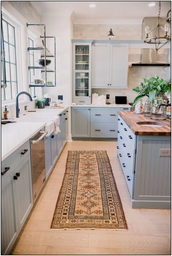 101 Inspiring Kitchen Design Ideas From Pinterest 39 Pointsave Net In 2020 Kitchen Design Small Farmhouse Kitchen Design Modern Farmhouse Kitchens