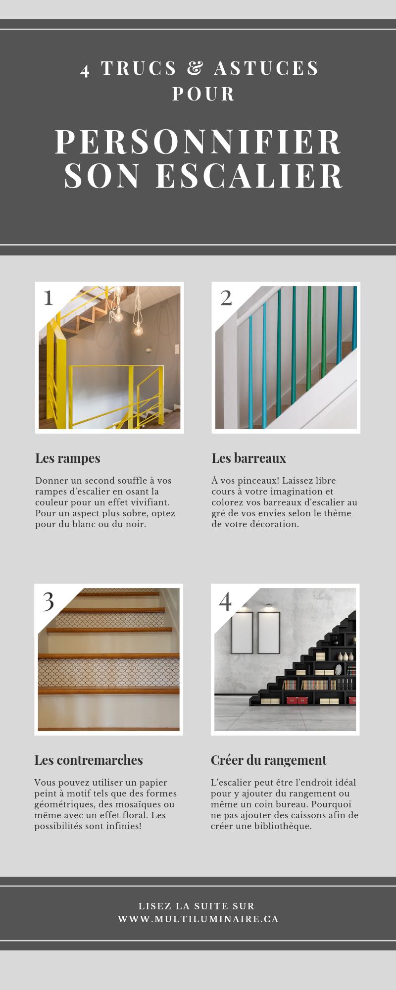 Ajouter Des Contre Marche Escalier Épinglé sur article / blogue