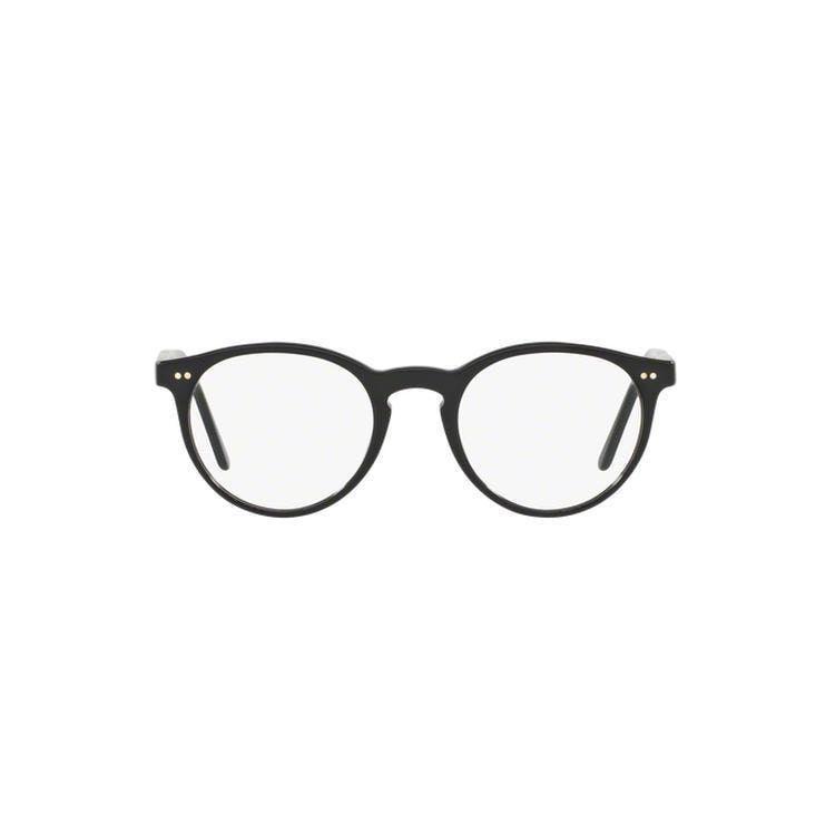 de0de542a Polo by Ralph by Ralph Lauren Lauren Men's PH2083 5003 48 Round Clear  Eyeglasses
