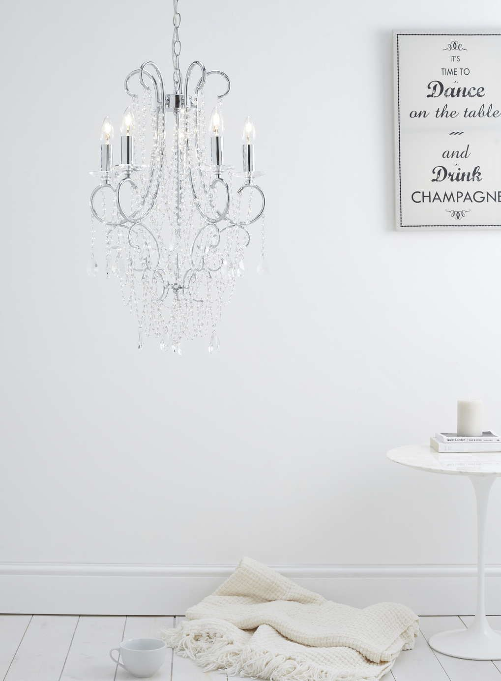 Elsa Chandelier - BHS   house   Pinterest   Bhs, Chandeliers and ...