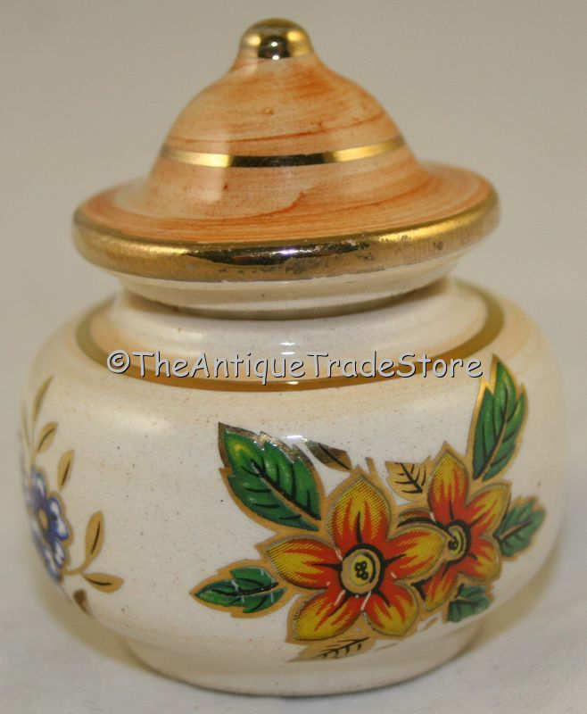 Image detail for -Vintage painted Perfume scent bottle box for Vaseline on eBid United ...