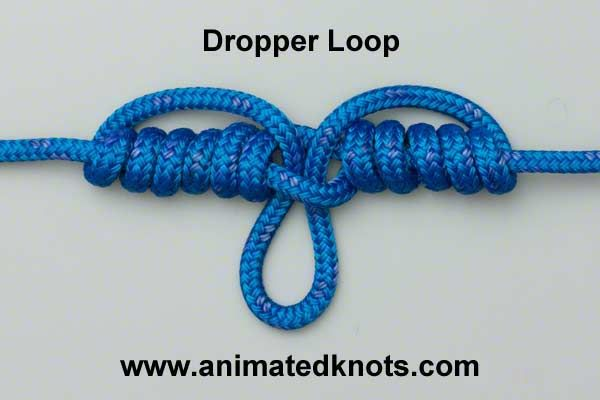 Dropper Loop Knot Fishing Knots Fly Fishing Knots Loop Knot