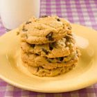 Outrageous Choc Chip Cookies (5 star cookie with choc, p butter and oatmeal in one)