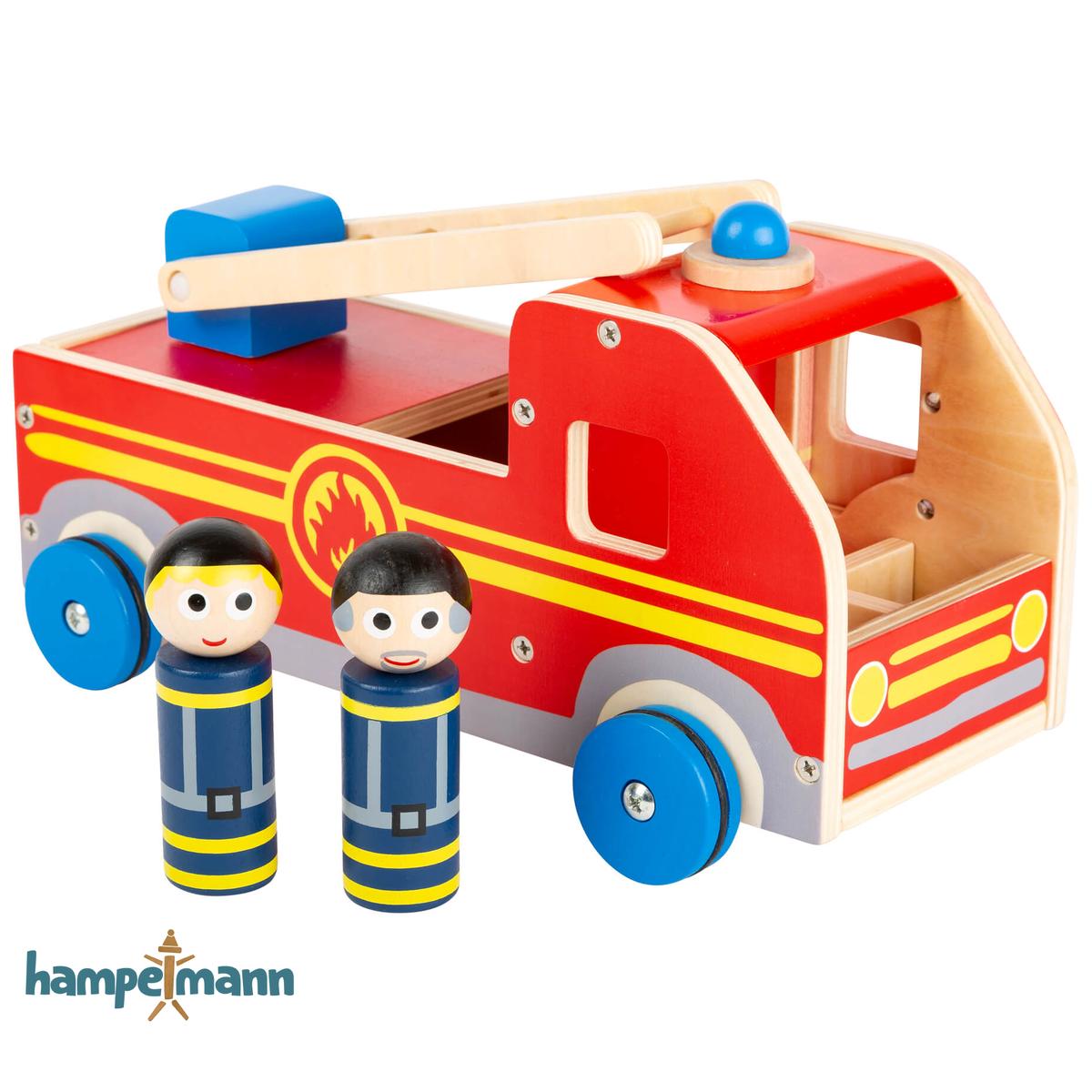 Spielauto Feuerwehr Vom Hampelmann Shop In 2020 Feuerwehrauto Autos Aufbewahrung Kinderzimmer