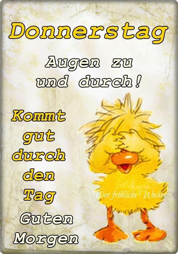 Pin Von B Grisu Auf Lustiges Bilder Donnerstag Donnerstag Spruche