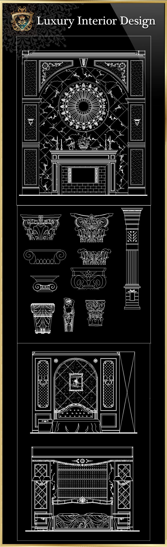 Luxury Interior Design CAD Blocks | Free Cad Blocks & Drawings Download  Center