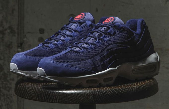 designer fashion 4a89d 61ea1 Nike X Stussy Air max 95 - Loyal blue | shoes | Sneakers ...