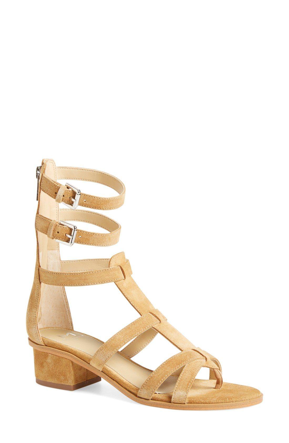 Marc Fisher LTD 'Fawn' Gladiator Block Heel Sandal (Women) | Nordstrom