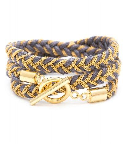 Kingston Large Wrap Bracelet - Sale | gorjana & griffin