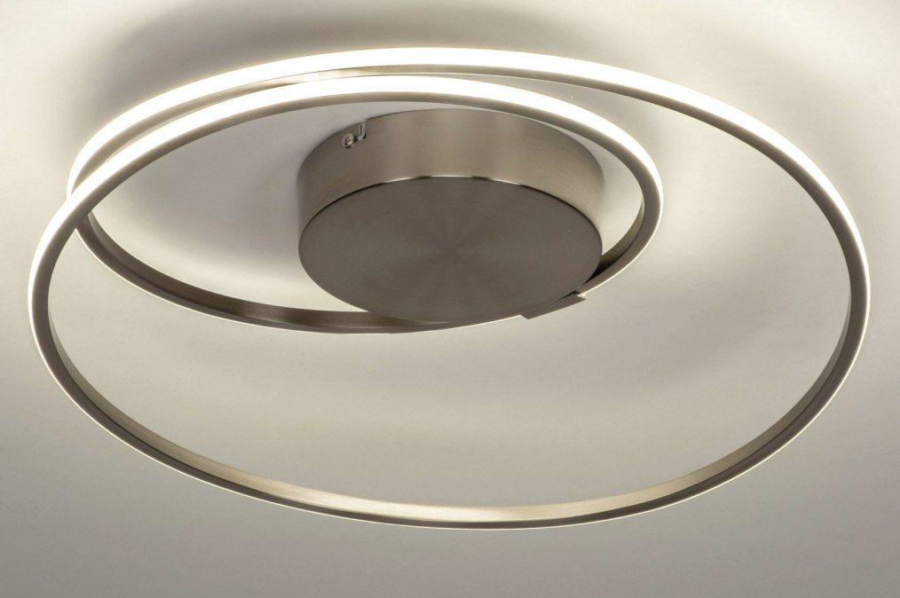 Art deze dimbare led plafondlamp heeft een minimalistisch