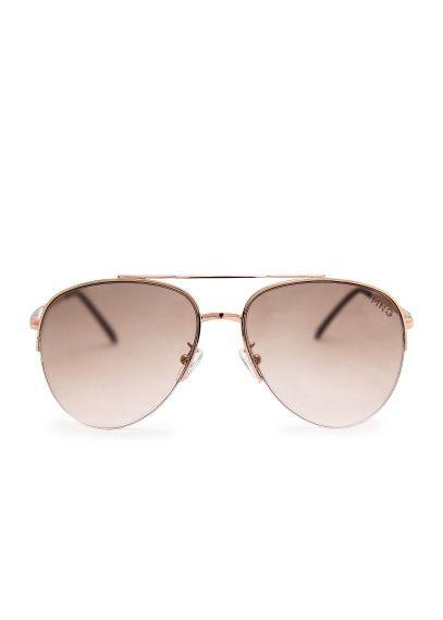7687f328bd Gafas de sol aviador - Mujer en 2019 | Sunglasses | Gafas sol mujer ...