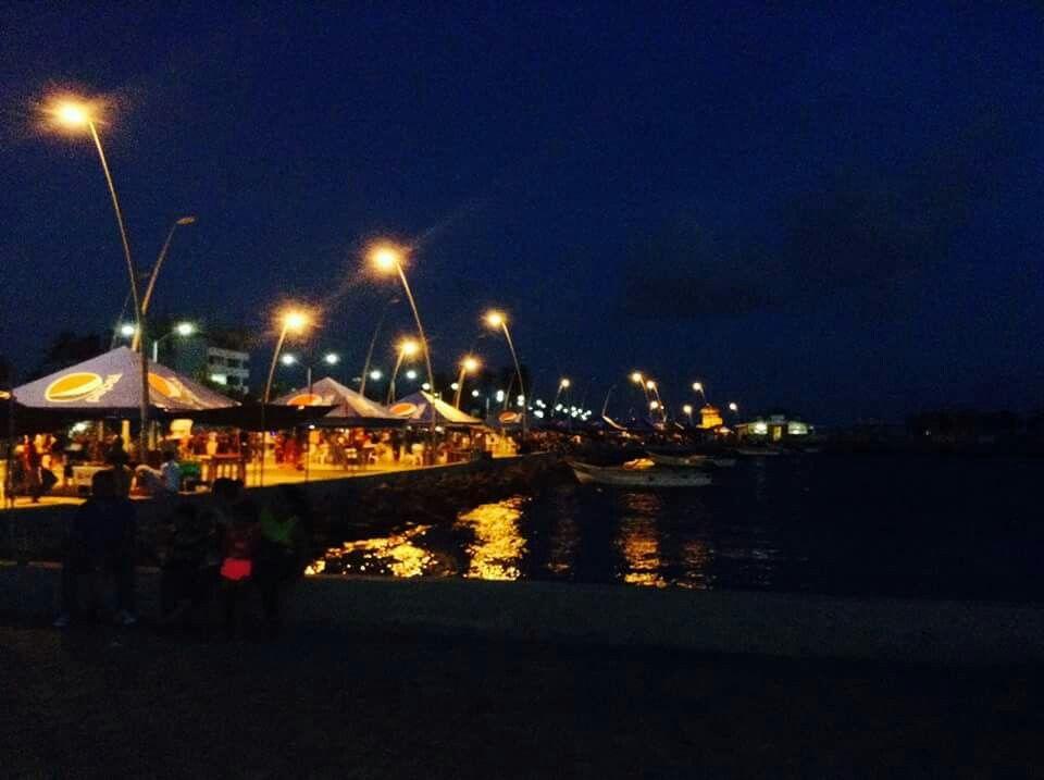 Alatata at night