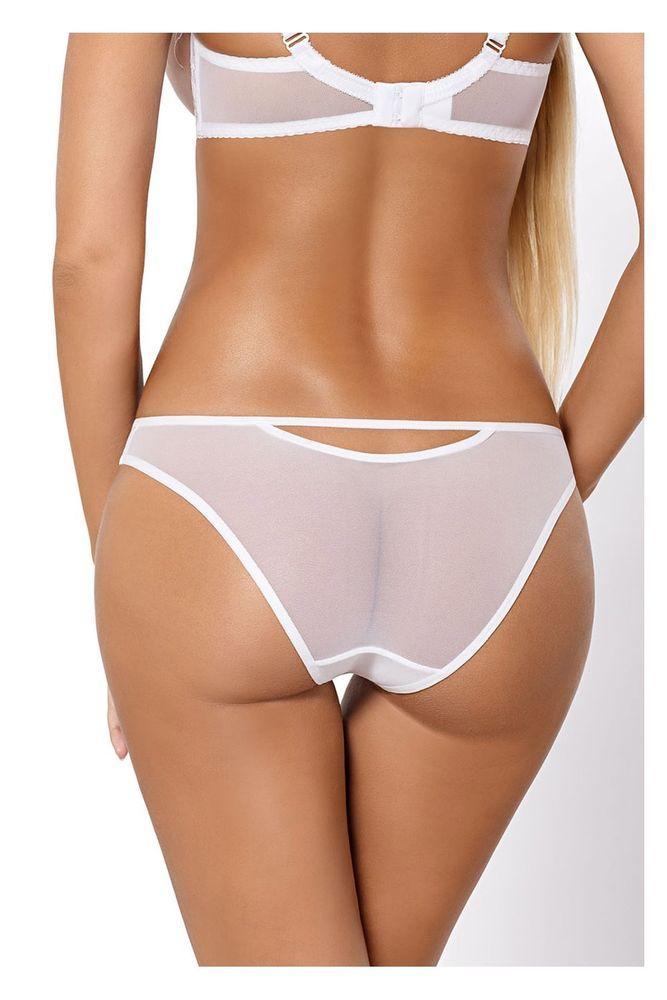 culotte blanche femme lingerie sexy slip paripari abby tailles 36 38 40 42 44 46 culottes sexy. Black Bedroom Furniture Sets. Home Design Ideas