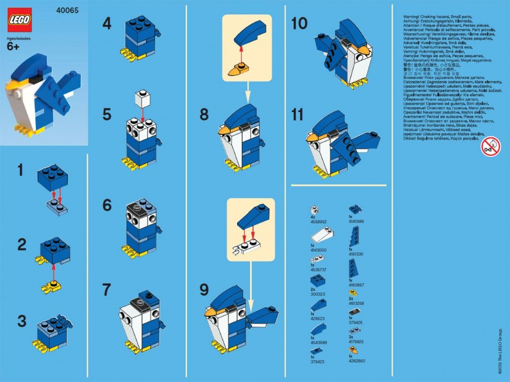 Directions For Lego Monthly Mini Build Kid Pinterest Legos