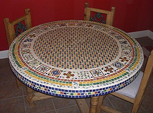 Talavera Tile Dining Table