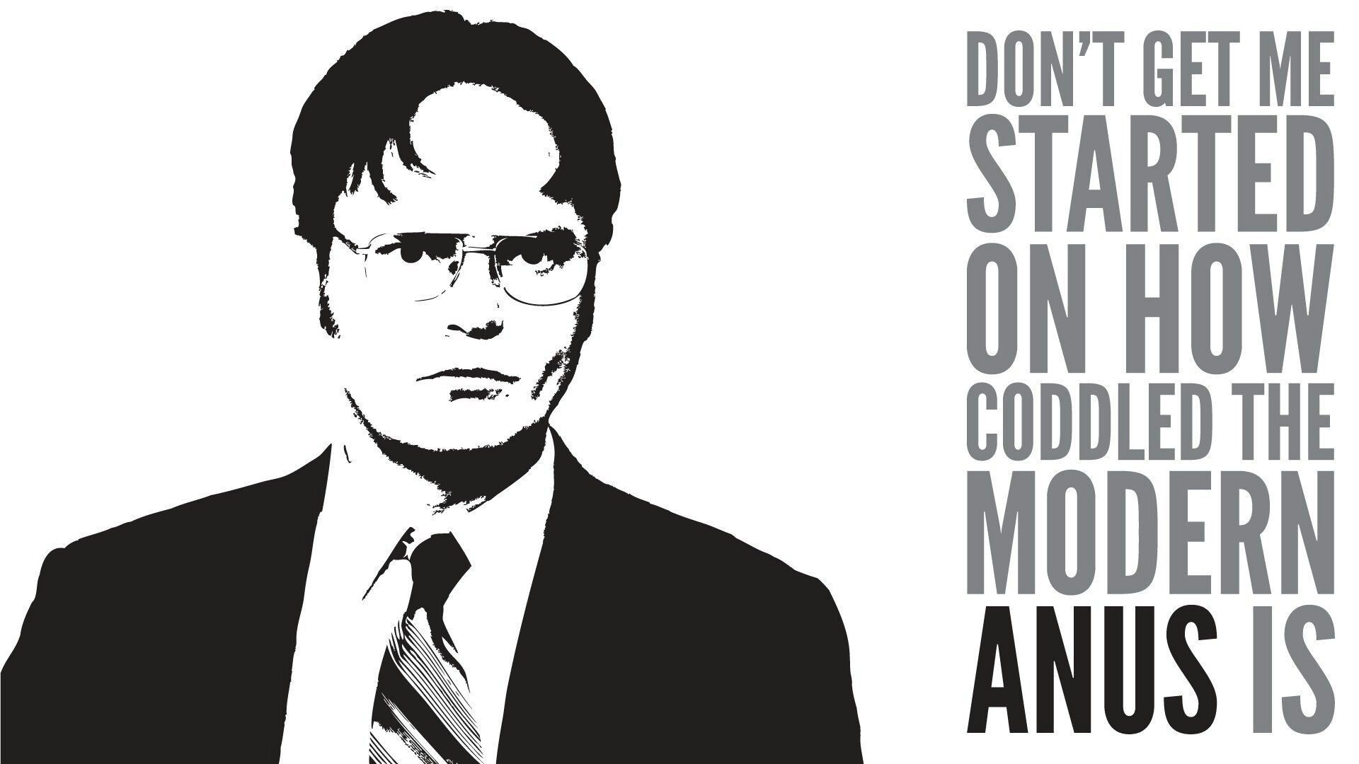Dwight schrute office wallpaper office quotes wallpaper