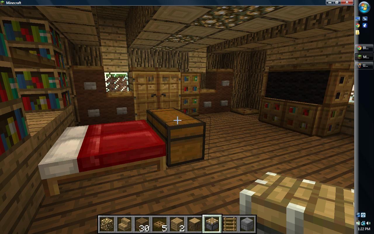 Bedroom Ideas For Minecraft  Design Ideas 20172018  Pinterest Adorable Minecraft Interior Design Bedroom Decorating Inspiration