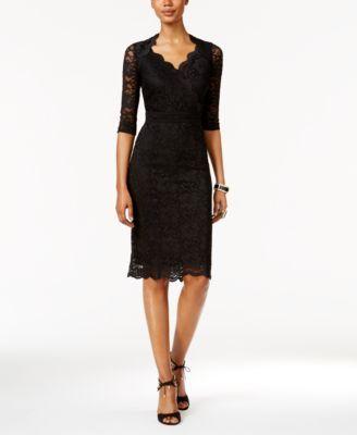 f2e70f208e8 Thalia Sodi Lace Empire Sheath Dress