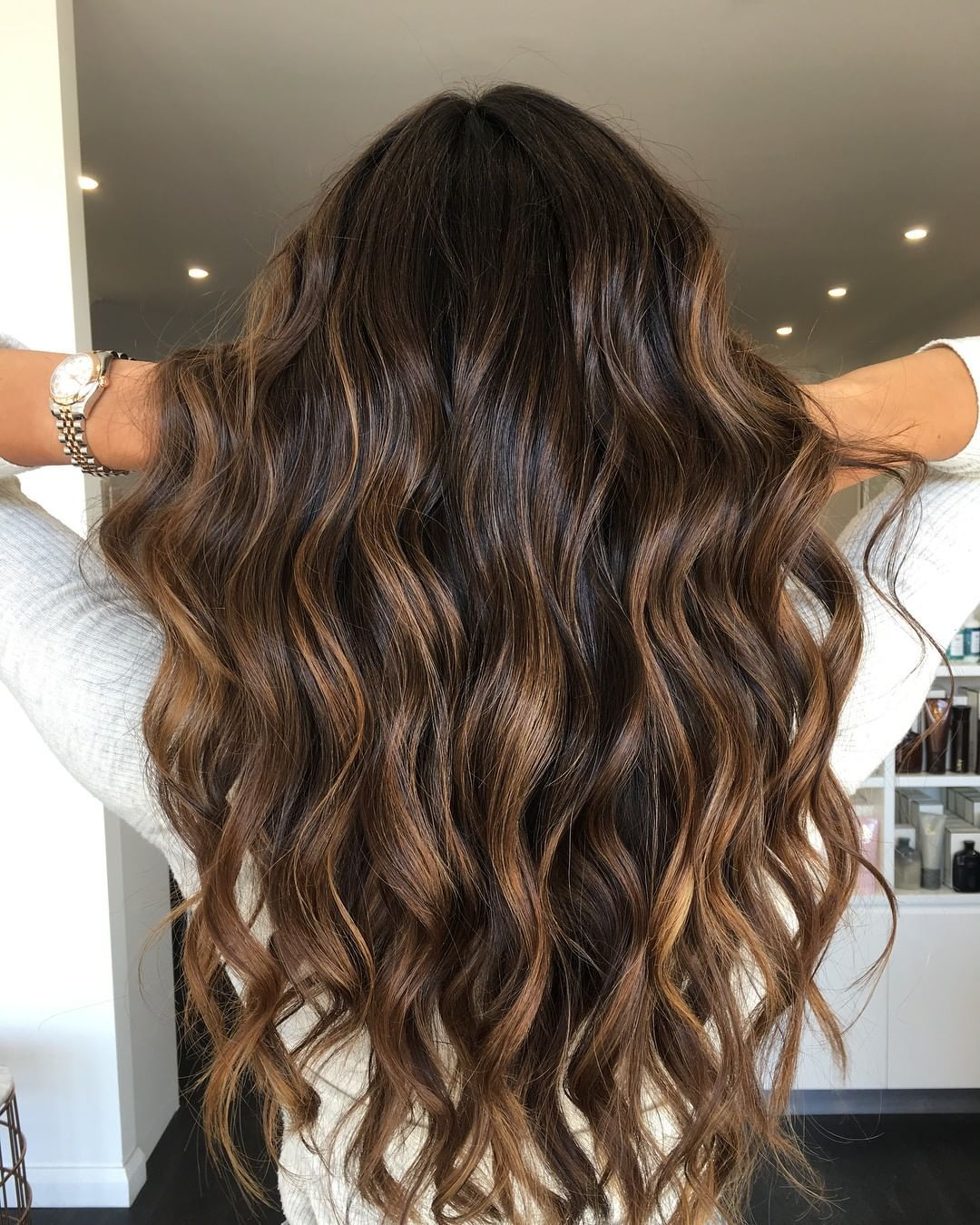 The 50 Best Hair Colors For Summer That Are On Trend In 2021 Hair Com By L Oreal Brown Hair Balayage Hair Styles Long Hair Styles