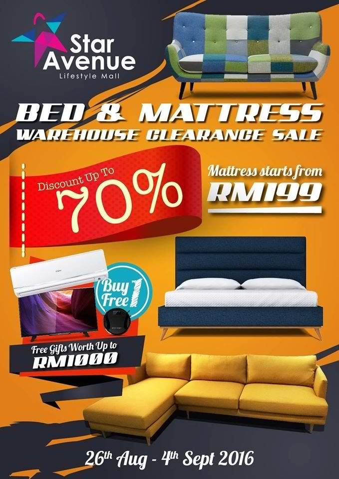 2 4 Sep 2016 Star Avenue Bed Mattress Warehouse Clearance Sale