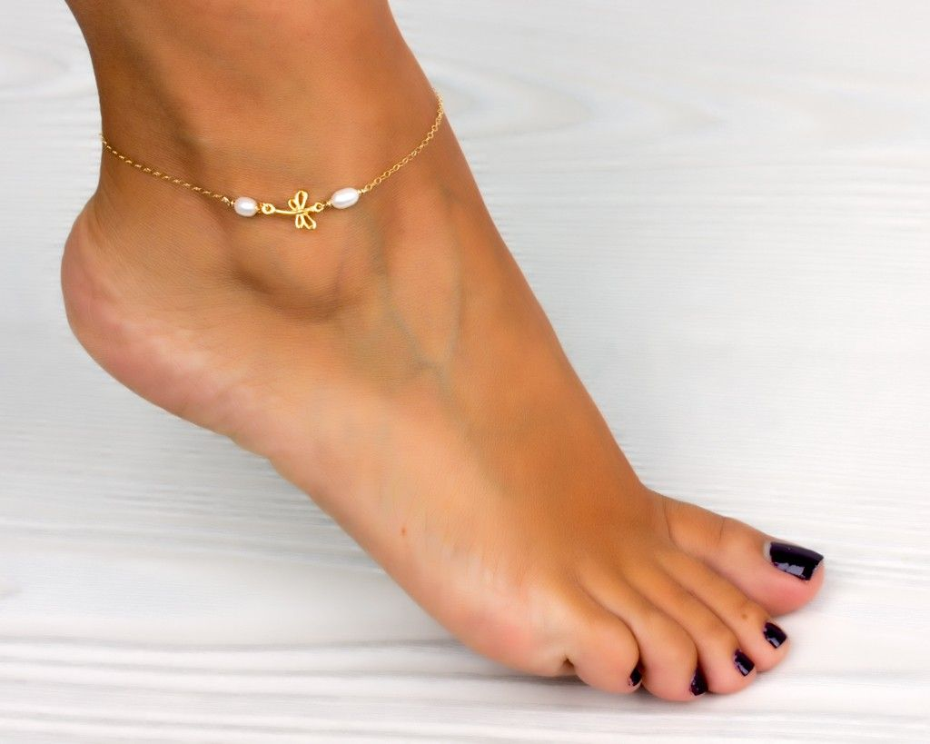 silver bracelets real jta jewelry appl bling chain small ball ankle bracelet heart anklet
