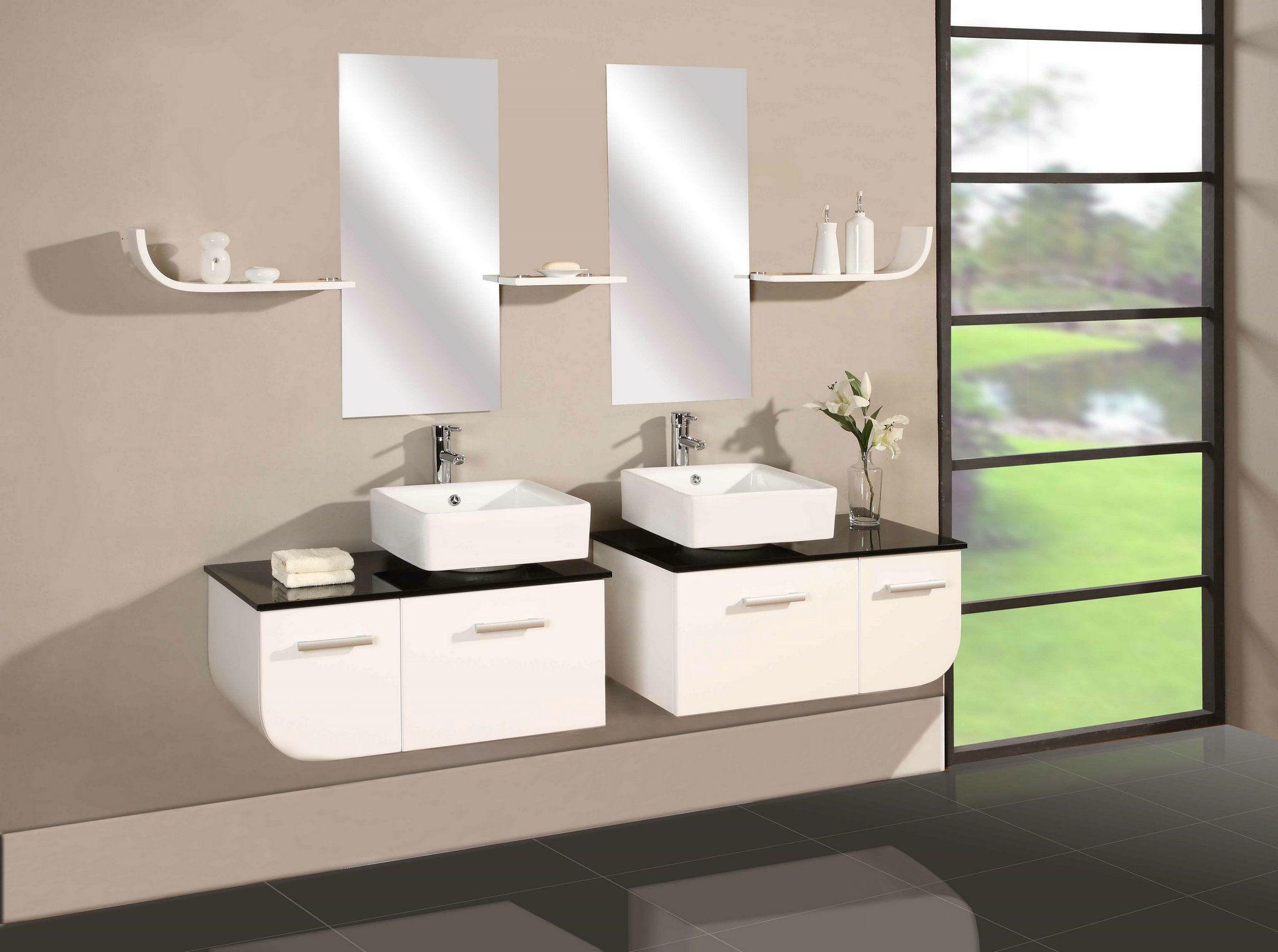 Modern Design Bathroom Vanities Beautiful | bathrooms | Pinterest ...