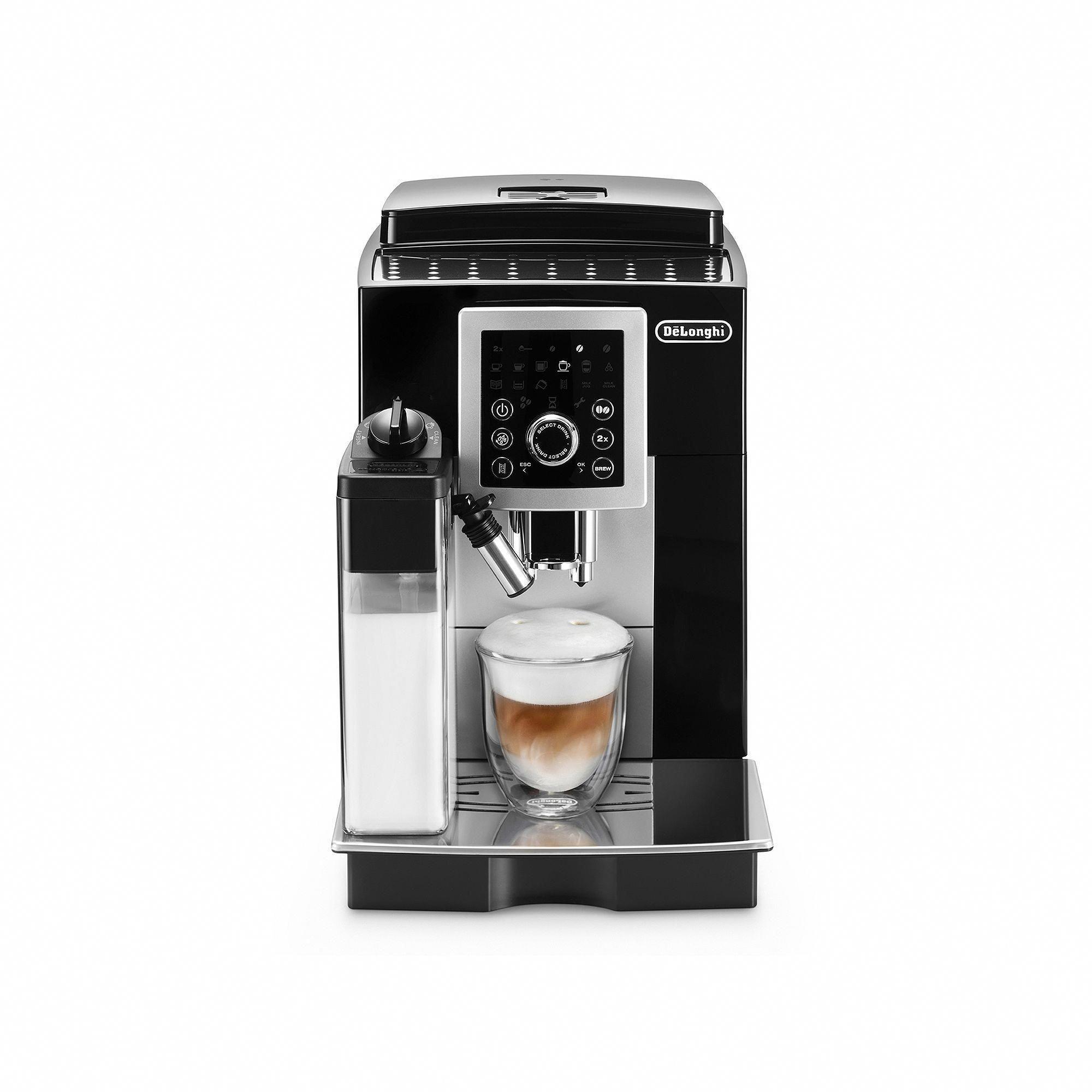 DeLonghi Cappuccino Machine, Multicolor