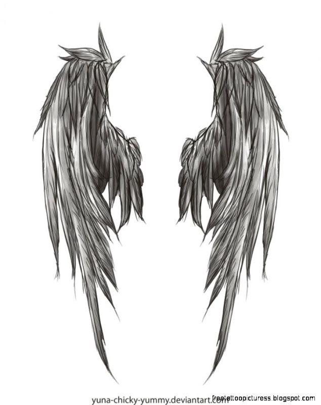 Volver Alas Del Angel Tatuajes Wings Drawing Wing Tattoo Designs Wing Tattoos On Back