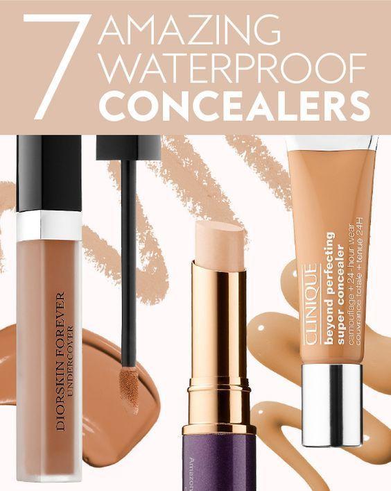 Waterproof Concealers to Wear this Summer