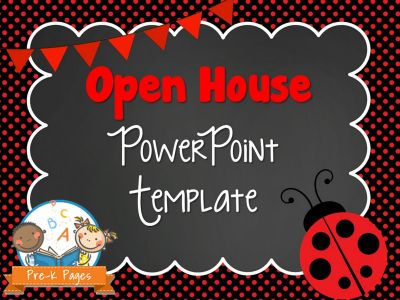 open house powerpoint presentation for parents - Intoanysearch - open house powerpoint template