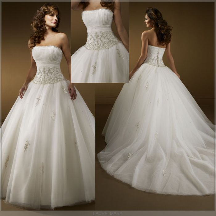 princess wedding dresses that are graceful wedding hit