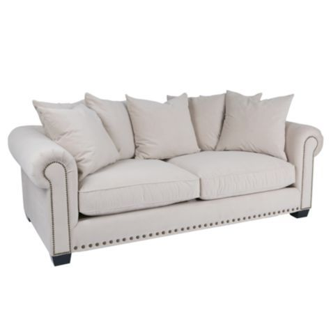 Linden Sofa Buckwheat From Z Gallerie Living Room Couch Formal