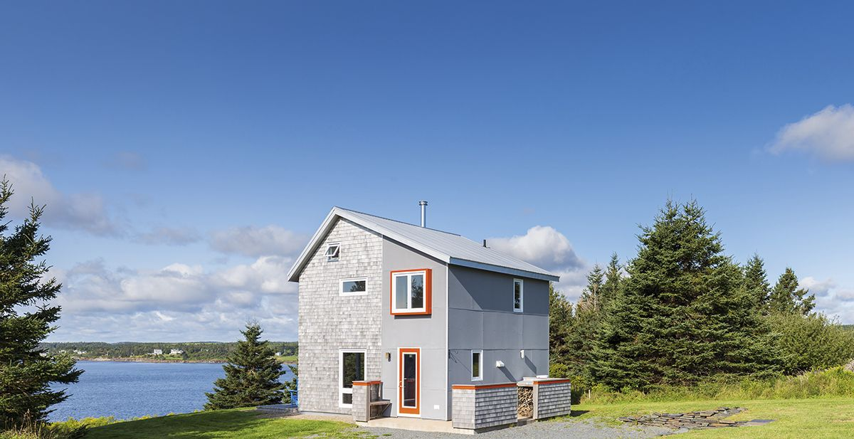 This Off The Grid Cottage In Nova Scotia Will Steal Your Heart Cottage Life Cottage Cabin Modern Cottage
