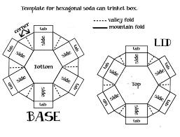 Resultado De Imagem Para Hexagon Explosion Box Template Explosion