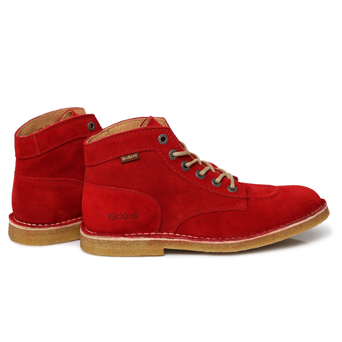 e5105fdd66512a kickers shoes london men | Kickers -Red-Kick-Legend-Suede-Mens-Knee-Hiigh-Boots-Shoes-Size-7-11