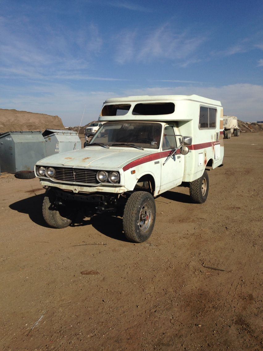 77 Toyota Chinook Converted To 4wd Trucks And Rvs Toyota Toyota